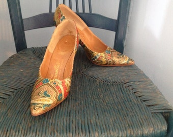 Vintage Ferantino High Heel Shoes