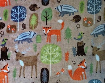 Minky, foxes, skunks, deer