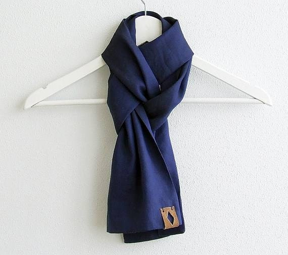mens linen scarf summer linen scarf for classic mens