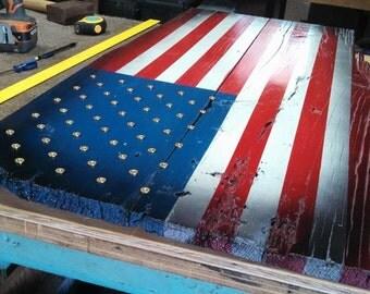 Bullet Battle Flag