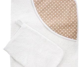 Organic Hooded Baby Towel Set