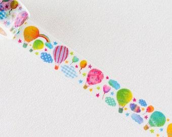 Tsutsumu masking tape- Balloon