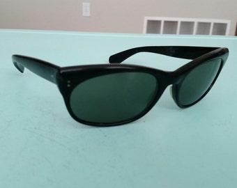 Vintage B&L Ray-Ban Chad Sunglasses 1960s Free Shipping