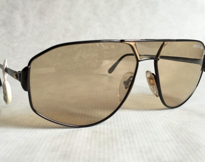 Lacoste 147/61 Photochromic Vintage Sunglasses Made in France -  New Old Stock Mint