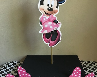 12 HOLES Minnie Mouse inspired cake pop stand
