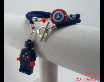 Bracelet captain america