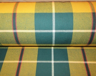 Plaid Upholstery Fabric Etsy Uk