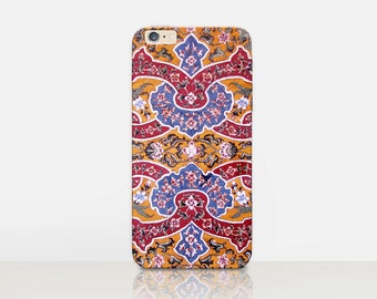 Bohemian Phone Case For- iPhone 8, 8 Plus, X, iPhone 7 Plus, 7, SE, 5, 6S Plus, 6S, 6 Plus, Samsung S8, S8 Plus, S7, S7 Edge