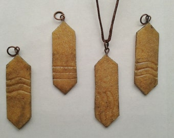 Elemental Stones Pendant Necklace (Plain) - Inspired by the Fifth Element