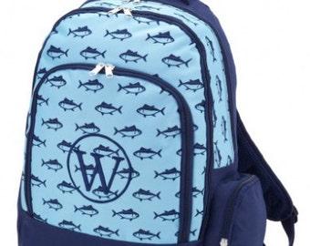 Monogrammed backpack fall 2016, Finn  Backpack, Monogram, limited time.