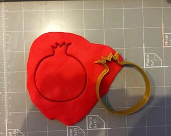Pomegranate Cookie Cutter