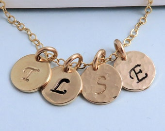 Extra Gold Initial For Gold Initial Necklace