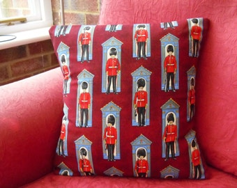 Hand Stitched Sentry Guard Cushion Cover