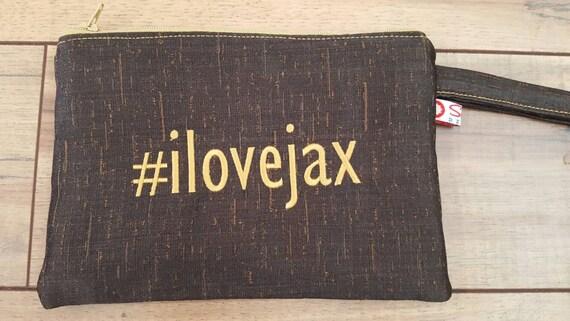 NEW! #ilovejax Wristlets