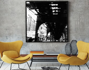 Chicago Photograph Instant Download Printable Art JPG