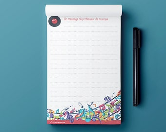 Notepad - The Love of Music