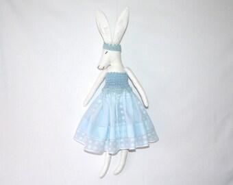 bunny soft toy,bunny,rabbit,plush bunny,easter bunny,rabbit figurine, easter rabbit, fabric doll, Hand-stitched rag doll,osterhase,Häschen