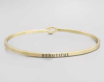 Beautiful Engraved Bracelet