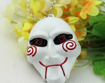 Saw Horror Film Necklace