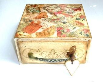 Wedding Recipe Box, Recipe box, Personalized recipe box, Recipe box, Kitchen Wedding Recipe Box, Mother gift, Gift, Romantic box