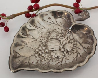sweet silver plated dish