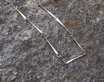 Hand Forged Linked Necklace