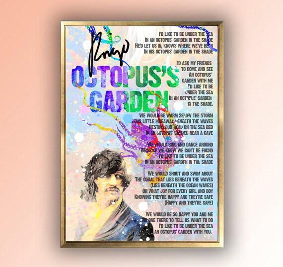 Octopus 39 S Garden Lyrics Ringo Starr The Beatles The