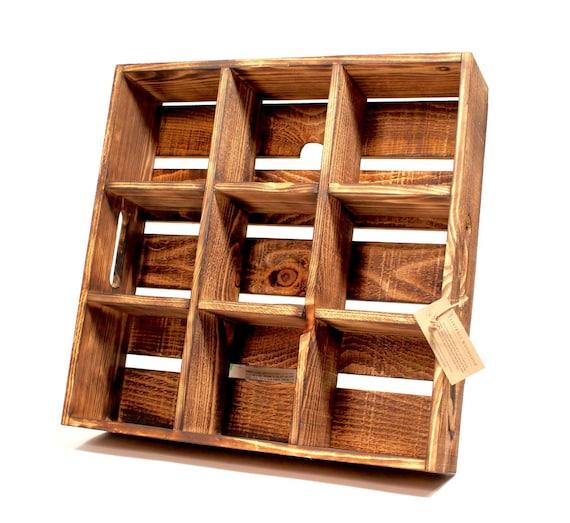 Handmade Crate-Style Shelf & Organizer --- Flintface Woodshop