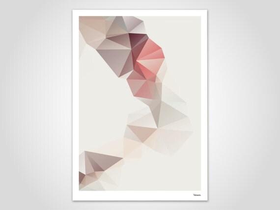 Tunnel moderne poster abstrakte kunstdrucke zeitgem e - Abstrakte kunstdrucke ...