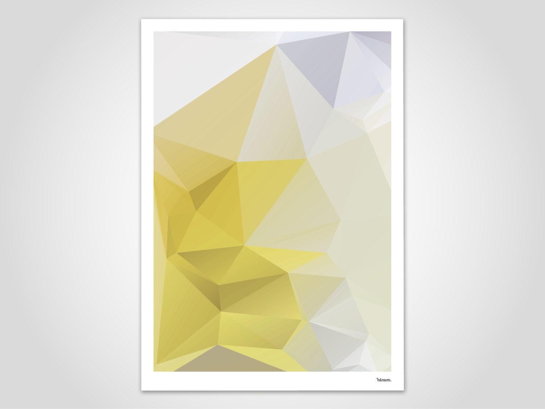 Yellowpoly moderne poster abstrakte kunstdrucke zeitgem e for Abstrakte kunstdrucke