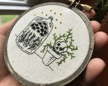 Small Spooky Embroidery