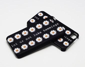 lol ur not luke hemmings - White Daisy - Full printed case for iPhone - by HeartOnMyFingers - ANT-079