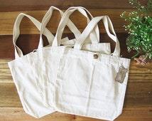 Natural 100% Cotton canvas Tote Bag - Blank