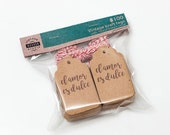 "Set of Kraft paper cardboard tags ""El amor es dulce"" with bakers twine, 1.57x2.75in DIY, Craft Tags, Party Favor Tags Wrap Supplies spanish"