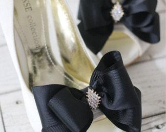 Custom wedding shoe clip set!