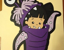 "Monsters Inc Boo Die Cut 11"" Tall"