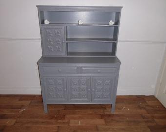 lovely carved welsh dresser refurbished in Gray