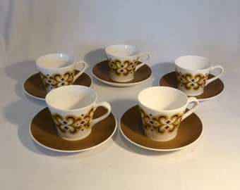 Royal Tuscan Espresso coffee set - original from the 1970s
