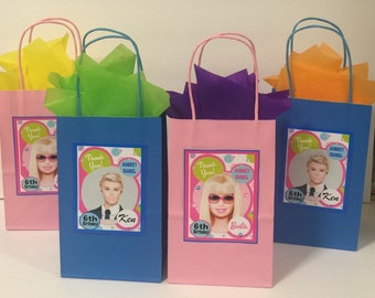 Barbie & Ken party bags (30)