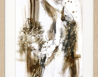 Woman drawing, Giclee print, Charcoal sketch, Woman print, Fine art print, Figurative Artwork, Graphic art Wall decor print, Woman sketch