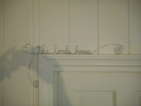 custom made door charms picture frame picture charms wire doorway names wire names steel wire names frame charms garden names charms from MyWireNames ... & custom made door charms picture frame picture charms wire ... pezcame.com
