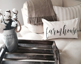 Farmhouse|Pillow Cover