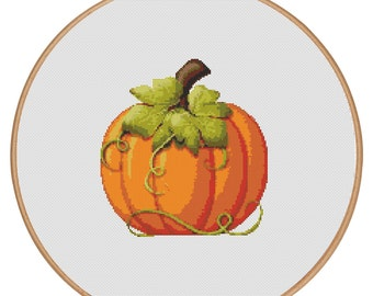 MORE for FREE - Halloween - Pumpkin - Holidays - Counted Cross stitch pattern PDF-Instant Download-Cross Stitch Pattern -Needlepoint - #1002