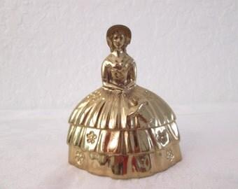 Brass Southern Belle Bell