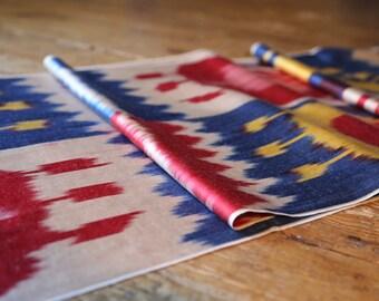 Handloomed Ikat Fabric UZ 19