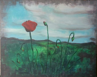 Poppies Print 5x7