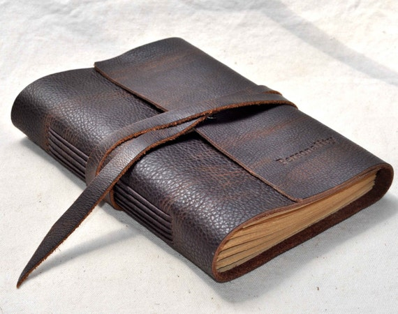 Personalized leather journals Refillable journalLeather