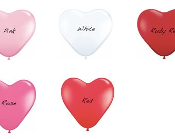 Giant 36 inch Heart Balloon // Valentines // Wedding // Latex Heart Shaped Balloon