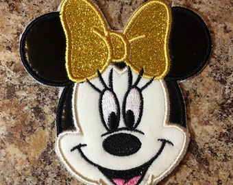 Minnie Mouse Iron On Applique