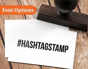 Custom Hashtag Stamp, Custom Wedding Stamp, Hashtag stamp, #yourownhashtag, Personalized stamp, Custom Self Inking Stamp, Wedding Stamp